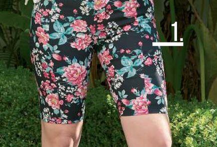 Oferta de Calza Mujer Ciclista Estampada flores por $1599