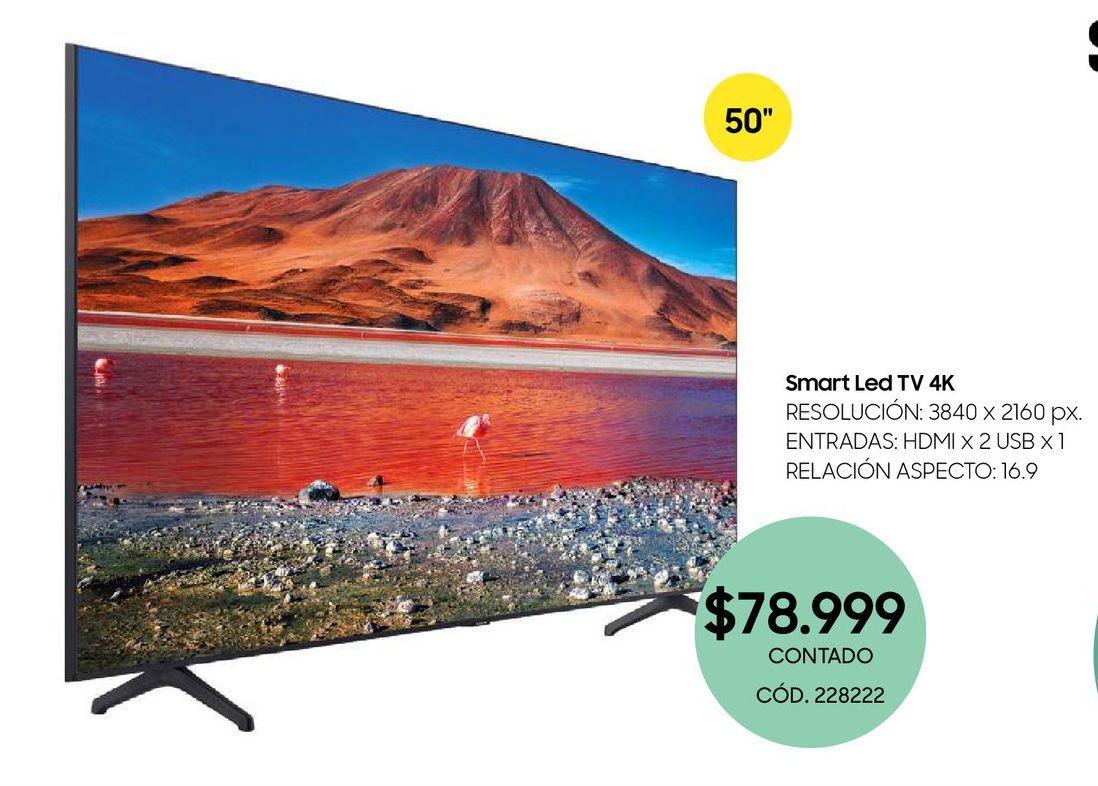 Oferta de Smart Led TV 4K por $78999