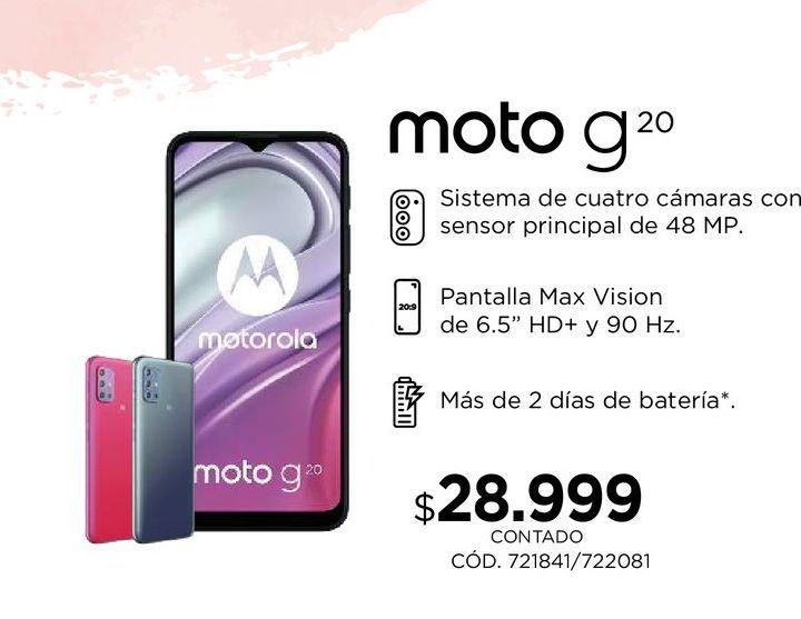 Oferta de Celulares Motorola por $28999