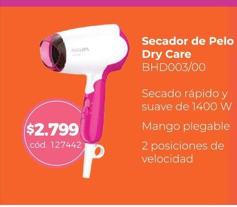 Oferta de Secador de Pelo Dry Care  por $2799