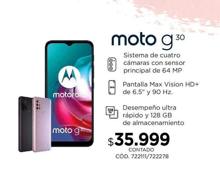 Oferta de Moto G30 por $35999