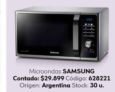 Oferta de Microondas Samsung por $29899