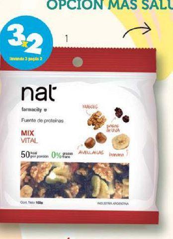 Oferta de Nat Mix Nat Crocante x 40 g por