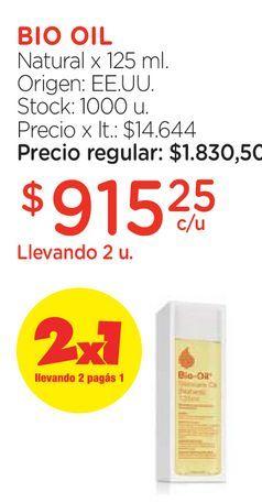 Oferta de Natural x 125 ml. por $915,25