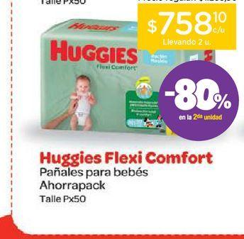 Oferta de Huggies Pañales Huggies Flexi Comfort Xtra Flex por $1469