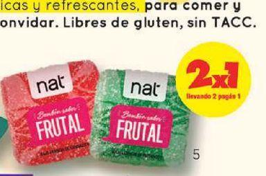Oferta de Bombón Clásico Nat Surtido Frutal x 10 g por