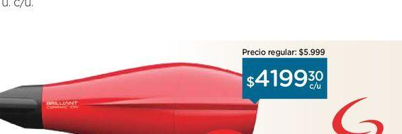 Oferta de Secador de Pelo  por $4199,3