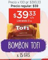 Oferta de Bombon con leche x 15 gr por $39,33
