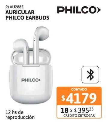 Oferta de Auricular Philco Earbuds TWS AP9TWS BT por $4179