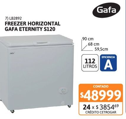 Oferta de Freez Hor Gafa 112L Eternity S120 AB por $48999