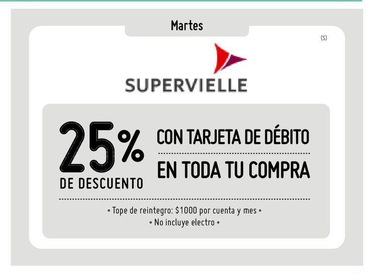 Oferta de Banco Supervielle -25% por