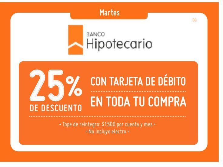 Oferta de Banco Hipotecario -25% por
