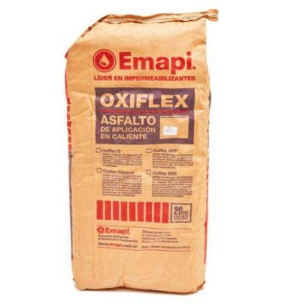 Oferta de Asfalto en panes oxiflex 20 kg - Emapi por $3649