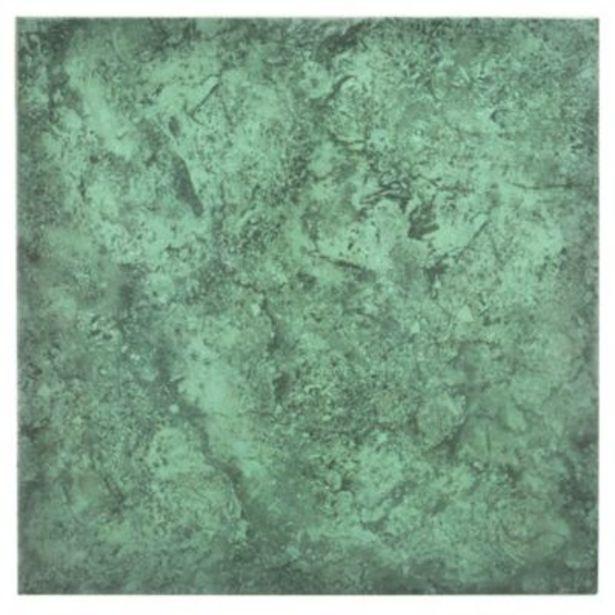 Oferta de Cerámica de interior 36 x 36 cm Gema verde esmeralda 2.68 m2 - Allpa por $499