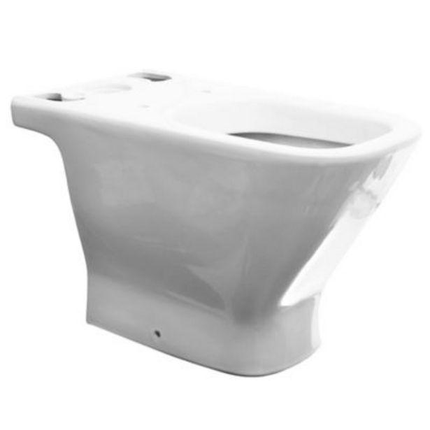 Oferta de Inodoro largo Gap Blanco - Roca por $38999