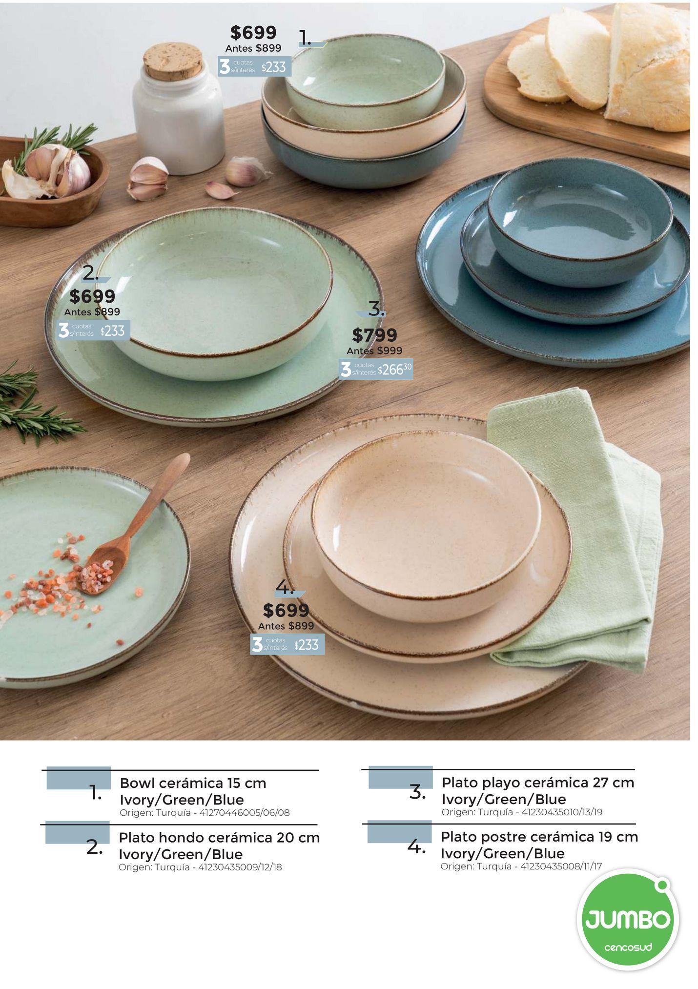Oferta de Platos cerámica por