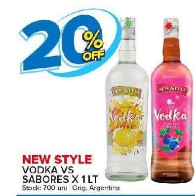 Oferta de Vodka New Style por