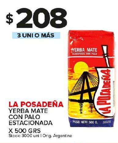 Oferta de Yerba mate La Posadeña por $208