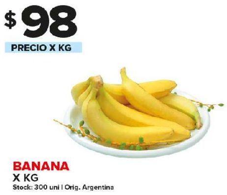 Oferta de Bananas x kg por $98