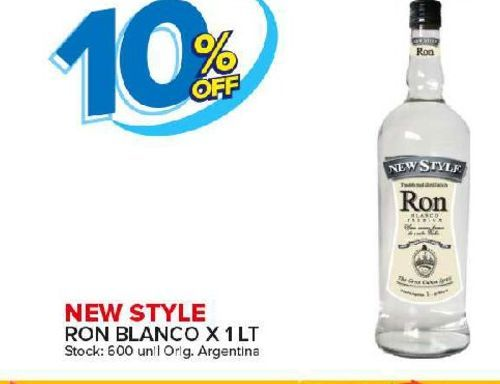 Oferta de Ron blanco New Style por