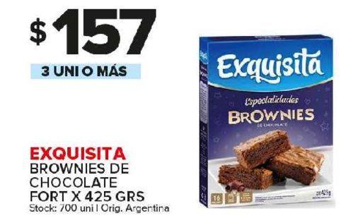 Oferta de Brownies Exquisita por $157