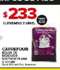 Oferta de Bolsas Carrefour por $233