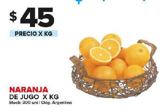 Oferta de Naranjas para jugo x kg por $45