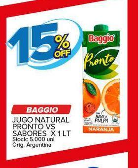 Oferta de Jugos Baggio liitro -15% por