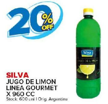 Oferta de Jugo de limon linea gourmet Silva por