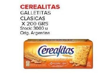 Oferta de Galletas Cerealitas 200gr por
