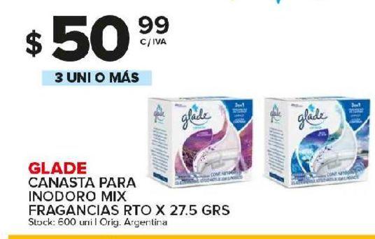 Oferta de Canasta para inodoro Mix Glade por $50,99