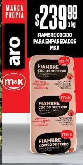 Oferta de Fiambre cocido para emparedados M&K kg por $239,99
