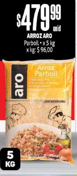 Oferta de Arroz Aro 5kg por $479,99