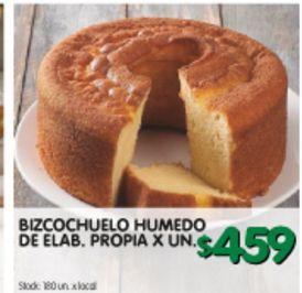 Oferta de Bizcochuelo Humedo x un por $459