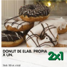 Oferta de Donuts 2x1 por