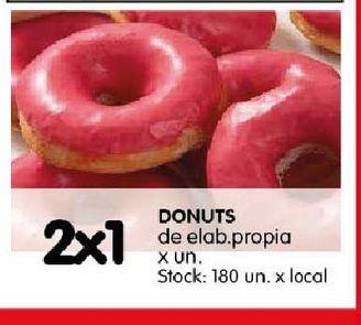 Oferta de Donuts por