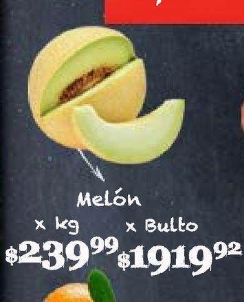 Oferta de Melón Kg por $239,99