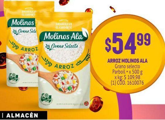 Oferta de Arroz Molinos Ala por $54,99