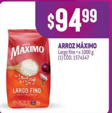 Oferta de Arroz Maximo por $94,99