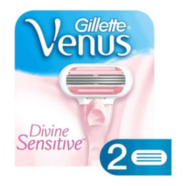 Oferta de GILLETTE VENUS DIVINE X2 HOJ AFE por $424