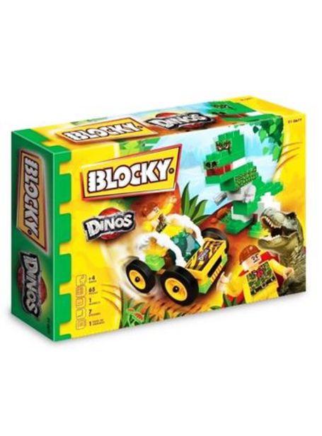 Oferta de Blocky Dinosaurios 65 Piezas por $895