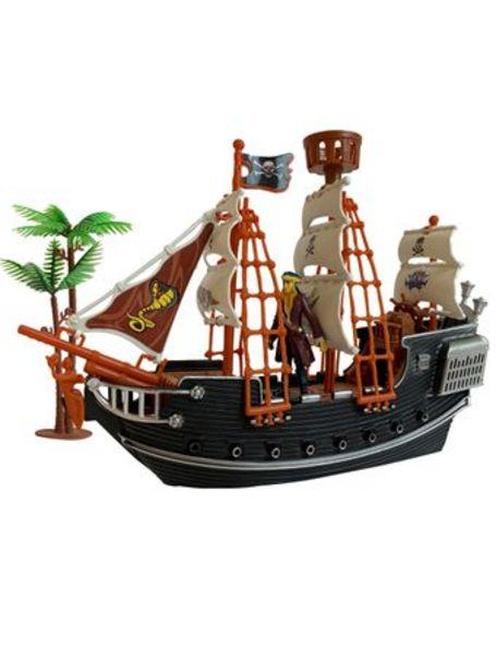 Oferta de Set Barco Pirata De Lujo Incluye Pirata Y Accesorios por $1890