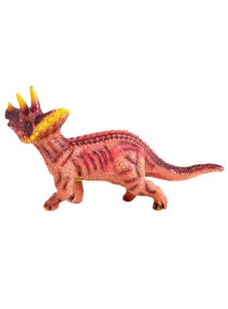 Oferta de Dinosaurios Dinosoft Triceratops 30 Cm Premium por $1970