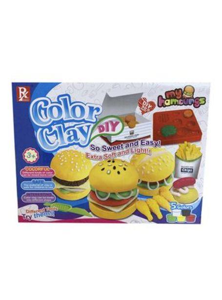 Oferta de Juego de Masas Color Clay Fabrica De Comida Rapida por $890