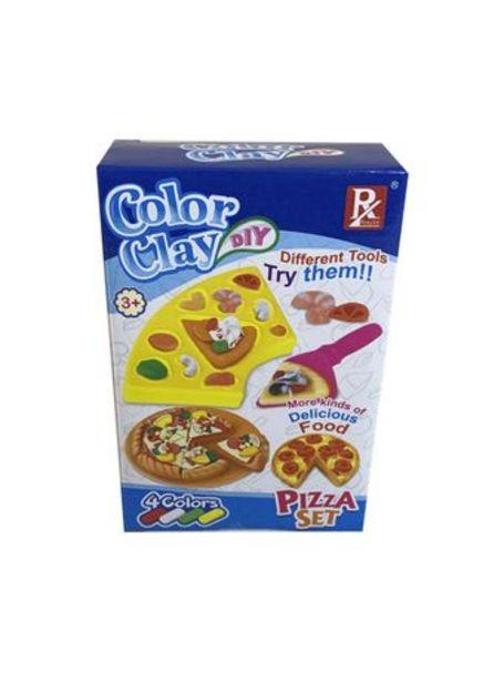 Oferta de Juego de Masas Color Clay Set De Pizzas por $449