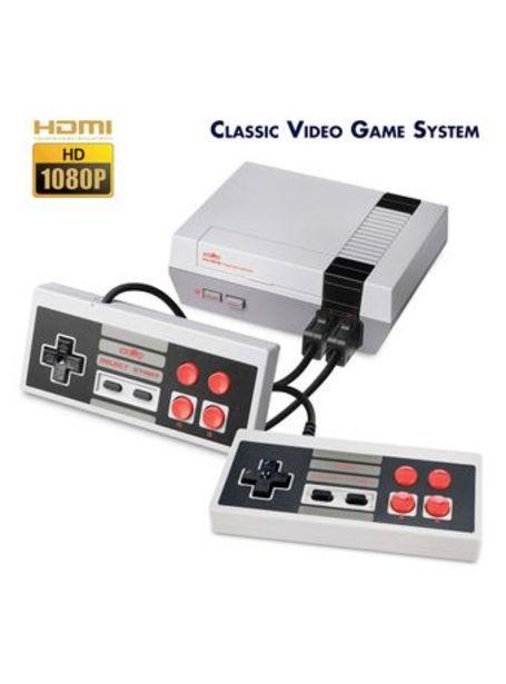 Oferta de Consola de 8 Bits Retro Nes Hdmi Plug Play con 500 Juegos por $5990