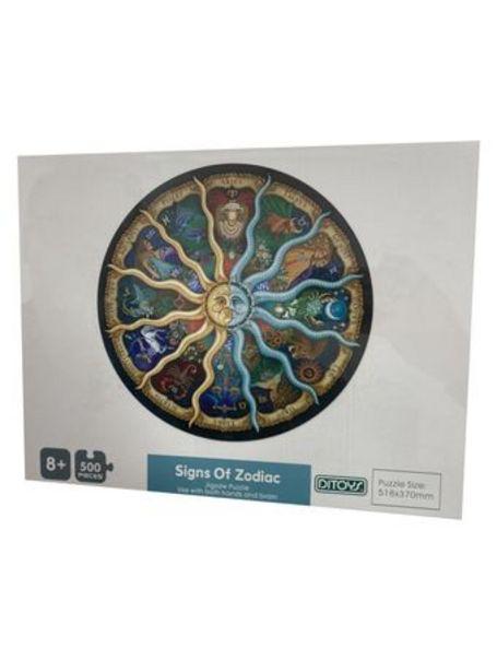 Oferta de Puzzle 500 Piezas Signos Zodíaco Original Ditoys por $2590