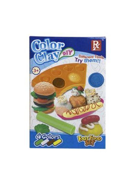Oferta de Juego de Masas Color Clay Set De Comida Rapida por $449