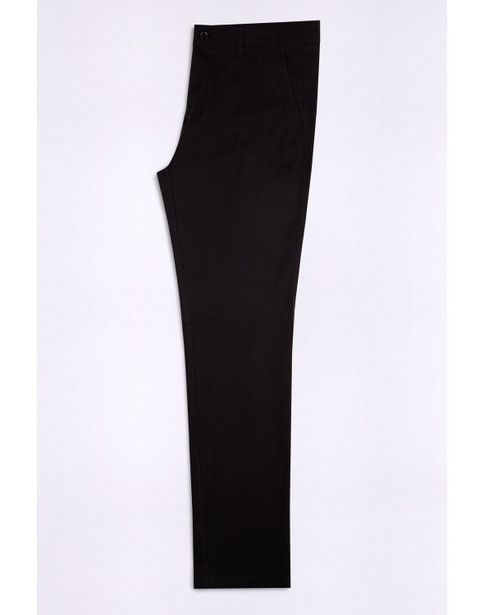 Oferta de Pantalon de gabardina sin pinzas fit por $6427