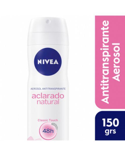 Oferta de Nivea Desodorante Spray Aclarado Natural 150Ml por $230,99